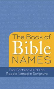 Baixar The Book of Bible Names: Fast Facts on All 2,026 People Named in Scripture (Value Books) (English Edition) pdf, epub, eBook