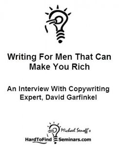 Baixar Writing For Men That Can Make You Rich: An Interview With Copywriting Expert, David Garfinkel (English Edition) pdf, epub, eBook