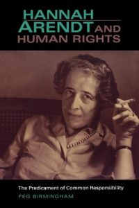 Baixar Hannah Arendt and Human Rights: The Predicament of Common Responsibility (Studies in Continental Thought) pdf, epub, eBook