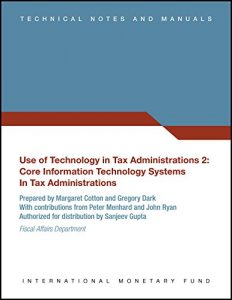 Baixar Use of Technology in Tax Administrations 2 pdf, epub, eBook