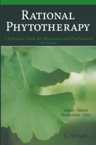 Baixar Rational Phytotherapy: A Reference Guide for Physicians and Pharmacists pdf, epub, eBook