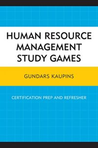 Baixar Human Resource Management Study Games: Certification Prep and Refresher pdf, epub, eBook