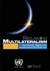 Baixar Reclaiming Multilateralism:For People, Rights and Sustainable Development (English Edition) pdf, epub, eBook