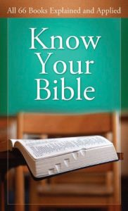 Baixar Know Your Bible: All 66 Books Explained and Applied (Value Books) (English Edition) pdf, epub, eBook