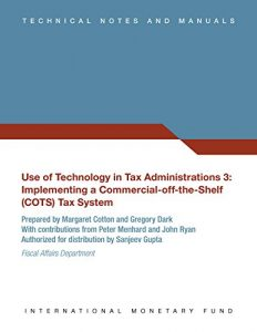Baixar Use of Technology in Tax Administrations 3 pdf, epub, eBook