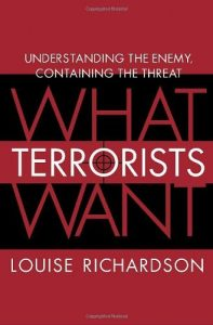 Baixar What Terrorists Want: Understanding the Enemy, Containing the Threat pdf, epub, eBook