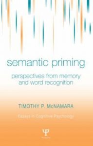 Baixar Semantic Priming: Perspectives from Memory and Word Recognition (Essays in Cognitive Psychology) pdf, epub, eBook