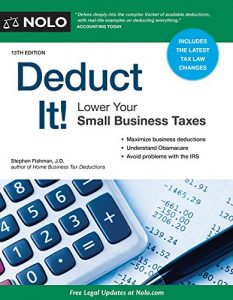 Baixar Deduct It!: Lower Your Small Business Taxes pdf, epub, eBook