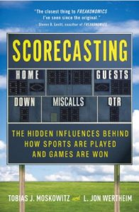 Baixar Scorecasting: The Hidden Influences Behind How Sports Are Played and Games Are Won pdf, epub, eBook