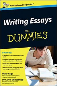 Baixar Writing Essays For Dummies pdf, epub, eBook
