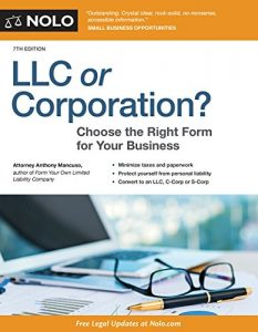 Baixar LLC or Corporation?: Choose the Right Form for Your Business pdf, epub, eBook