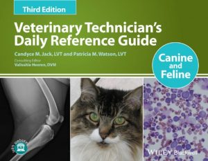 Baixar Veterinary Technician's Daily Reference Guide: Canine and Feline pdf, epub, eBook