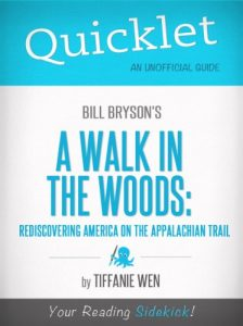 Baixar Quicklet on Bill Bryson's A Walk in the Woods: Rediscovering America on the Appalachian Trail (English Edition) pdf, epub, eBook