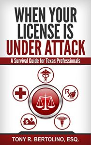 Baixar When Your License is Under Attack: A Survival Guide for Texas Professionals (English Edition) pdf, epub, eBook