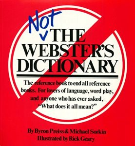 Baixar Not The Webster's Dictionary (English Edition) pdf, epub, eBook