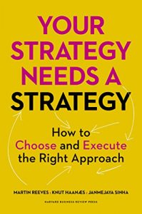 Baixar Your Strategy Needs a Strategy: How to Choose and Execute the Right Approach pdf, epub, eBook