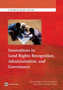 Baixar Innovations in Land Rights Recognition, Administration, and Governance (World Bank Studies) pdf, epub, eBook
