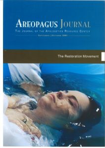 Baixar The Restoration Movement. The Areopagus Journal of the Apologetics Resource Center. Volume 9, Number 5. (English Edition) pdf, epub, eBook