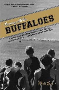 Baixar Running with the Buffaloes: A Season Inside with Mark Wetmore, Adam Goucher, and the University of Colorado Men's Cross-Country Team pdf, epub, eBook