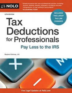 Baixar Tax Deductions for Professionals: Pay Less to the IRS pdf, epub, eBook