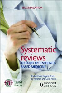 Baixar Systematic reviews to support evidence-based medicine, 2nd edition pdf, epub, eBook
