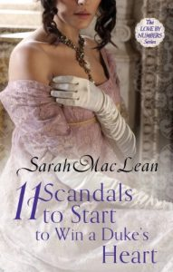 Baixar Eleven Scandals to Start to Win a Duke's Heart: Number 3 in series (Love by Numbers) pdf, epub, eBook