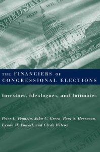 Baixar The Financiers of Congressional Elections: Investors, Ideologues, and Intimates (Power, Conflict, and Democracy: American Politics Into the 21st Century) pdf, epub, eBook