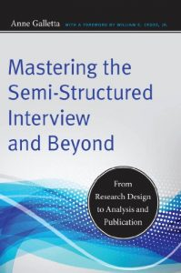 Baixar Mastering the Semi-Structured Interview and Beyond: From Research Design to Analysis and Publication (Qualitative Studies in Psychology) pdf, epub, eBook