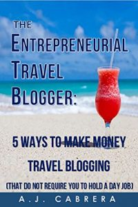 Baixar The Entrepreneurial Travel Blogger: 5 Ways to Make Money Travel Blogging (That Do Not Require You to Hold A Day Job) (English Edition) pdf, epub, eBook