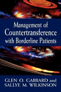 Baixar Management of Countertransference with Borderline Patients pdf, epub, eBook
