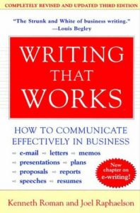 Baixar Writing That Works, 3e: How to Communicate Effectively in Business pdf, epub, eBook