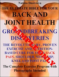 Baixar The Ultimate Bible For Your Back and Joint Health. GROUNDBREAKING DISCOVERIES. The Revolutionary, Proven Exercise and Nutrition-Based Cure for Your Back, … Knee and Foot Pain Sample (English Edition) pdf, epub, eBook