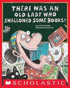 Baixar There Was an Old Lady Who Swallowed Some Books! pdf, epub, eBook